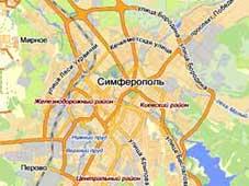 Найти наш офис на карте Симферополя